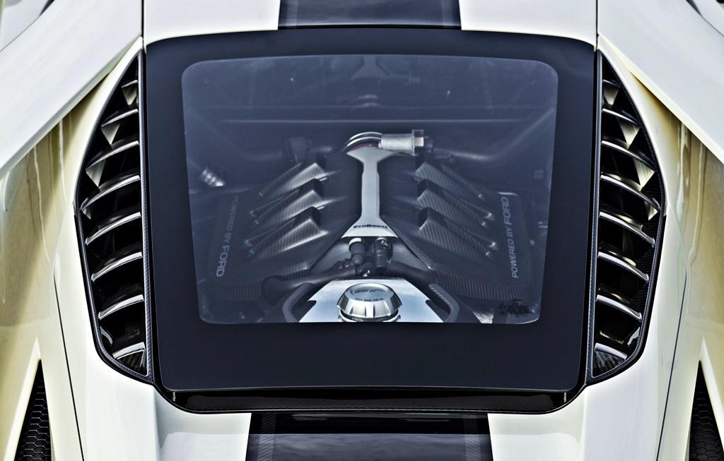 3.5-litre V6 EcoBoost engine in Ford GT