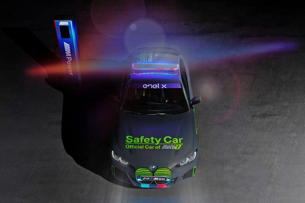 BMW M i4 M50 MotoE Safety Car