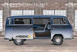 Continental AMBIENC3 concept VW T2 microvan