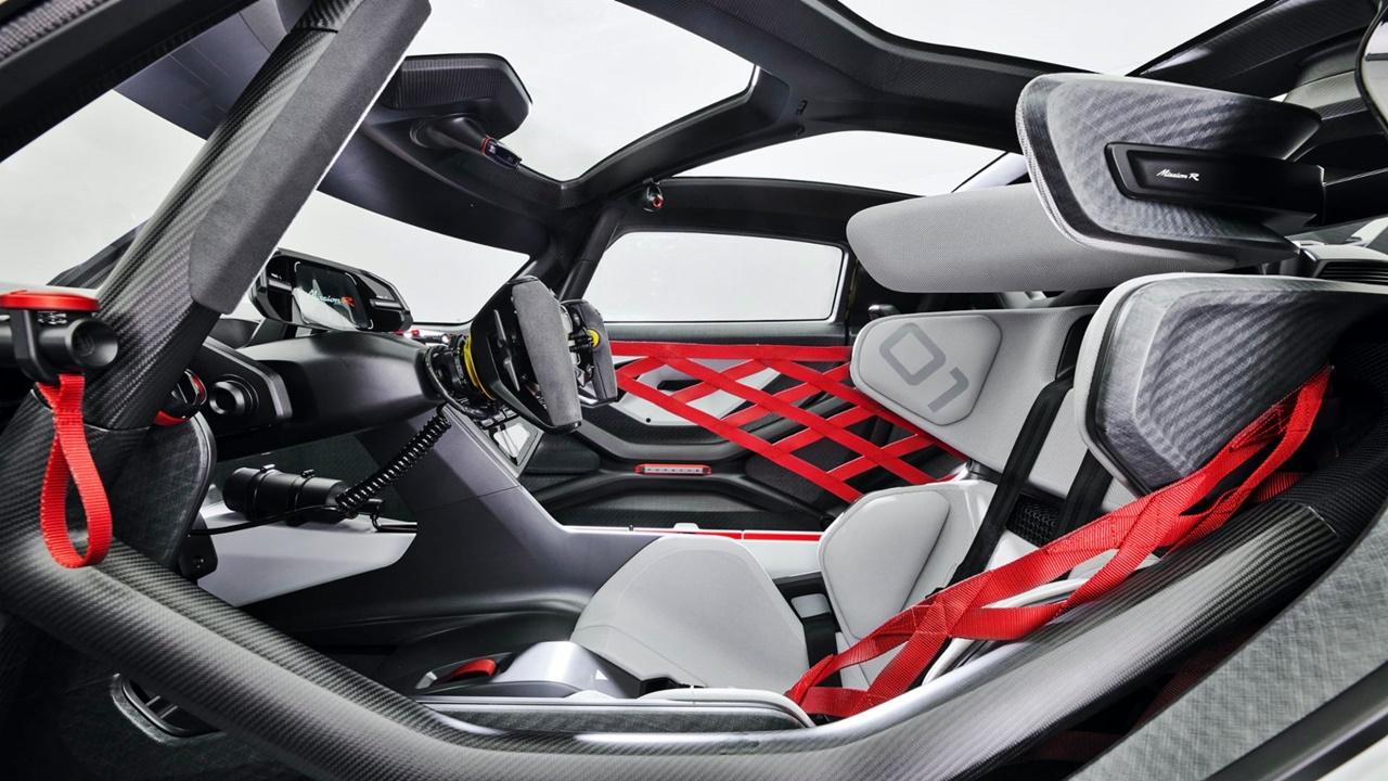 Porsche Mission R concept study 2021