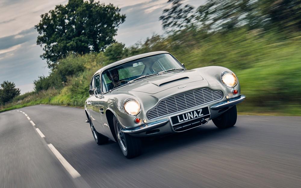 Lunaz Aston Martin DB6 EV